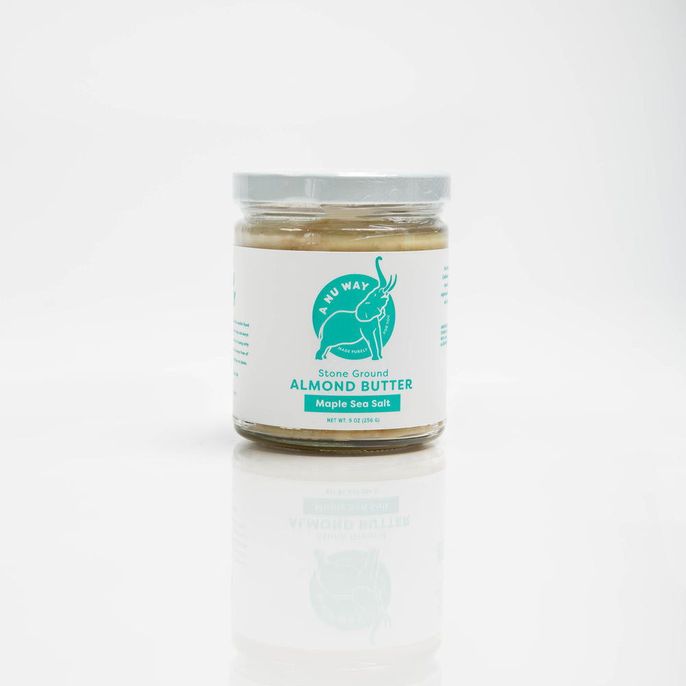 Stone Ground Almond Butter - Maple Sea Salt