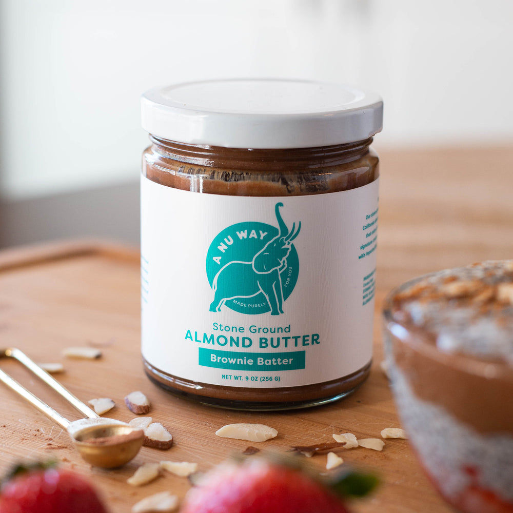 Stone Ground Almond Butter - Brownie Batter