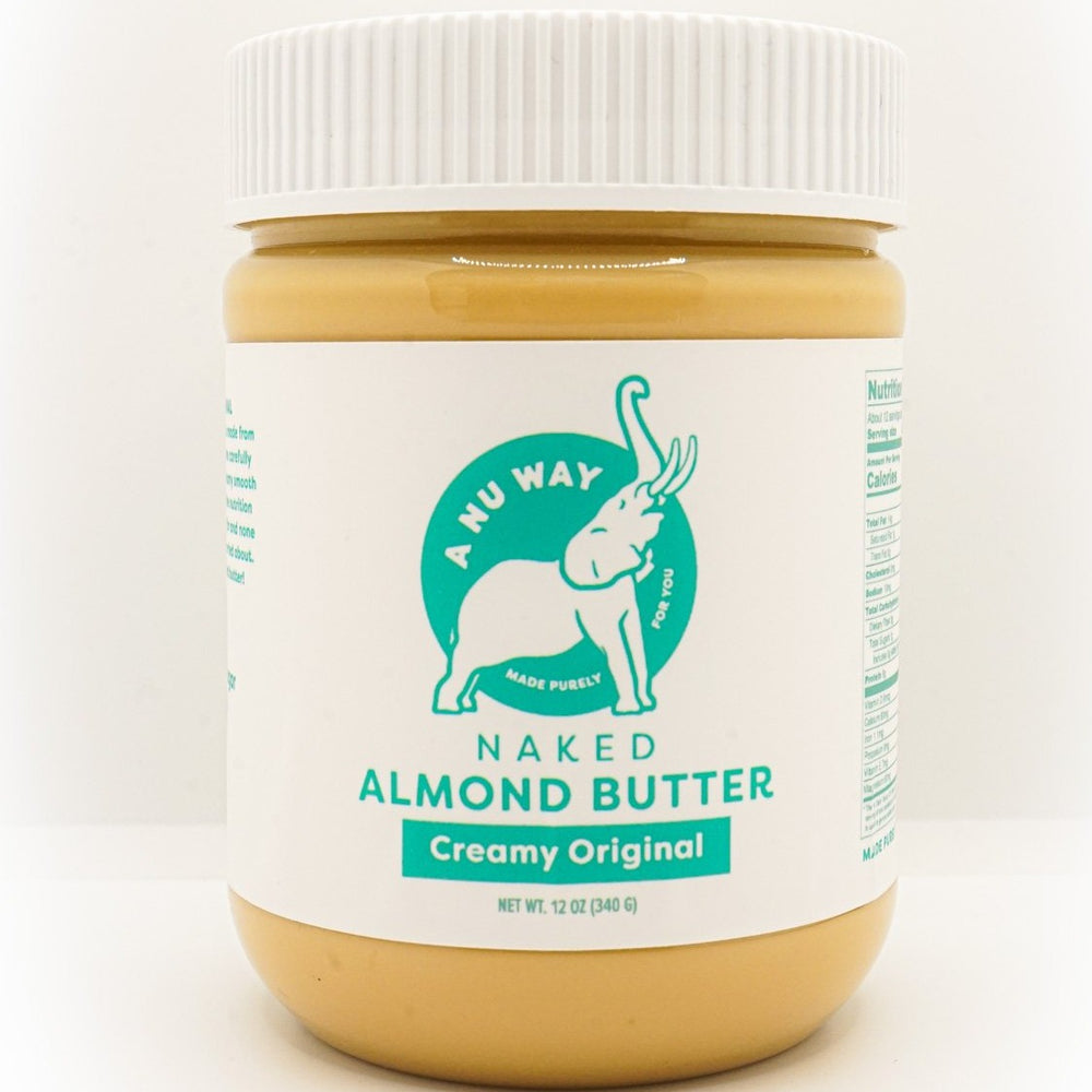 Naked Blanched Almond Butter(12 oz)