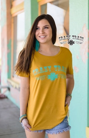 Must Have Mustard Tee by Crazy Train