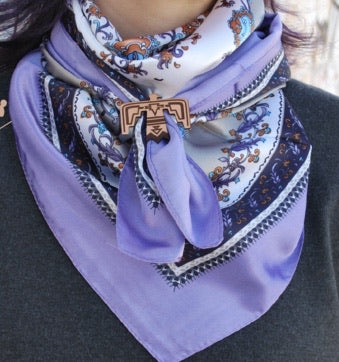 Luxe Lavender Wild Rag Scarf