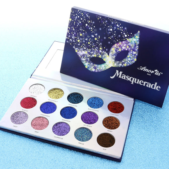 Masquerade Glitter Face and Body Makeup Palette