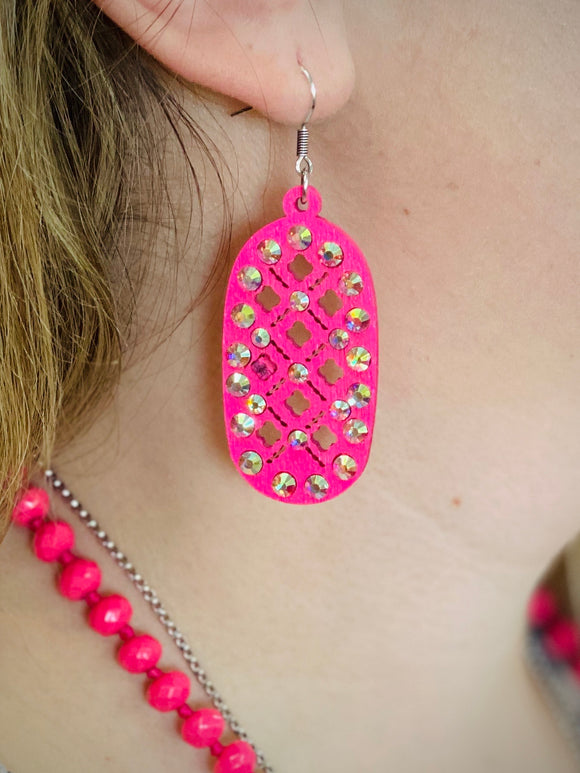 Pink Marisol Earrings by Sagebrush Sally's