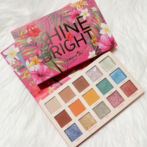 Shine Bright 15 pan Eyeshadow Palette