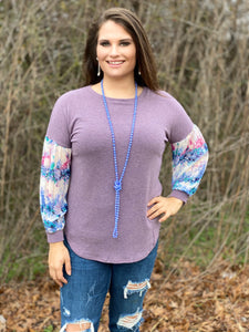 Lavender Spring Women's Top