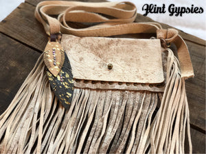 Keep It Gypsy Leather Cross Body Convertible Purse