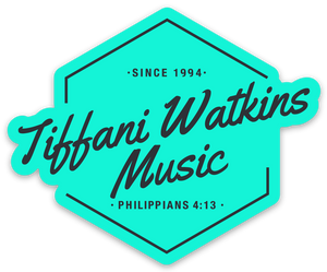 Tiffani Watkins Music Sticker