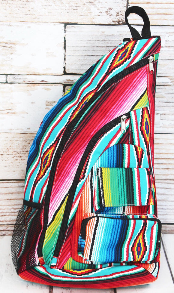 Serape Sling Backpack