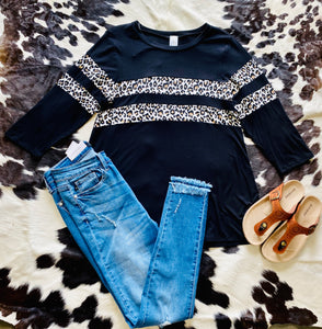 Wild About You Leopard Top