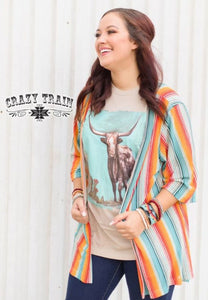 Harvest Colors Kimono By Crazy Train