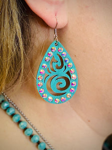 Turquoise Kate Earrings by Sagebrush Sally's