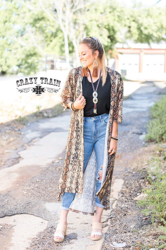 Prairie Rattler Duster By Crazy Train
