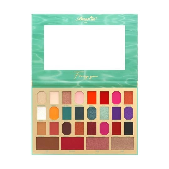 Fancy You 28 Color Face and Eyes Palette