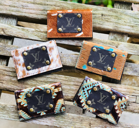 Keep It Gypsy LV Accent Card/Cash Holder