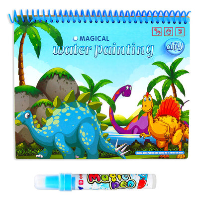 Magic Water Drawing Book Coloring Book Doodle With Magic Pen Painting Drawing Board Coloring Book For Kids Toys Toy NO BOX - Babies One