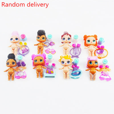 1PCS Random delivery DIY wear clothes Bottle Girl lol Doll Baby Change Dolls Action Figure Toys Kids Gift LOL toys for girls - Babies One