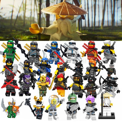 New Legoing Ninjago Figures Blocks Garmaoon Nya Jay Zane Kai Cole Harumi Samurai X Action Figures Ninjago Legoings Toy & Hobbies - Babies One