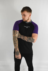 Black & Purple - Pacer Tee