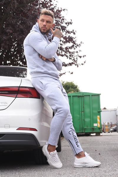 Grey - Ruthless Tracksuit Bottoms