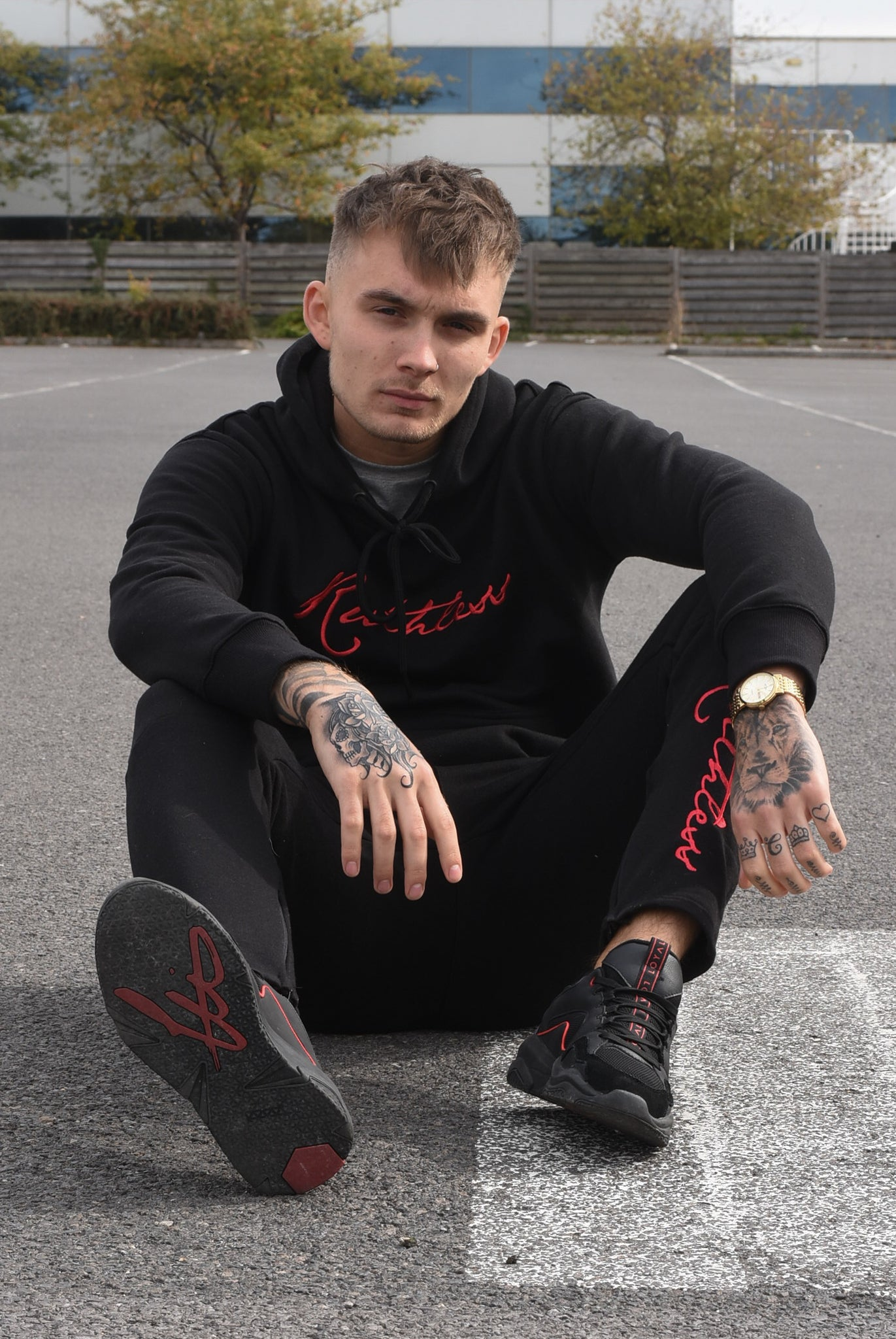 Black - Ruthless Tracksuit