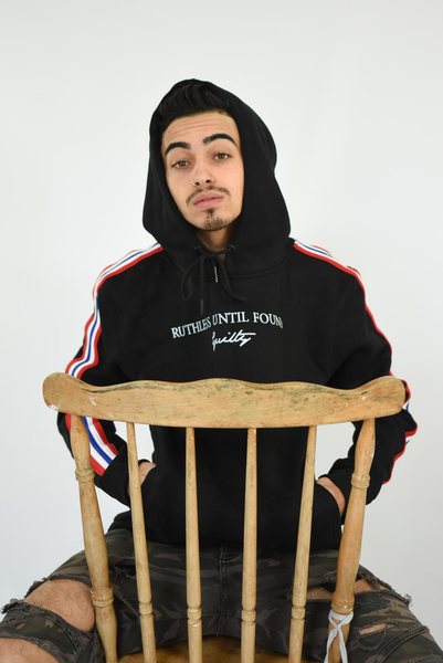 Black - Ruthless Until Found Guilty GB Hoodie