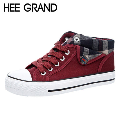 HEE GRAND Autumn Canvas Shoes