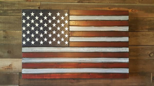 Rustic Large Concealment Flag