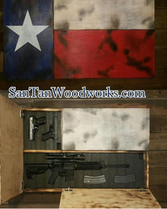 Large Texas Concealment Flag