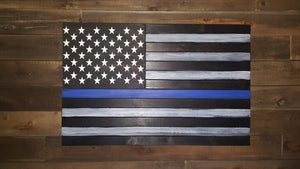 Thin Line Large Concealment Flag