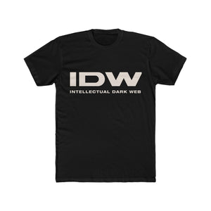 Men's Cotton Crew Tee - IDW Spelled Out