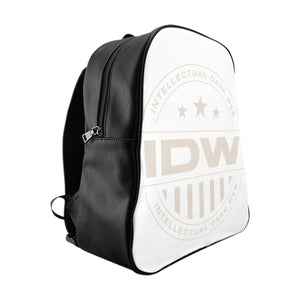 School Backpack - IDW Badge - Grey