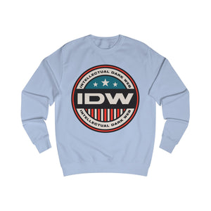 Men's Sweatshirt - IDW Badge - Color - Red Border