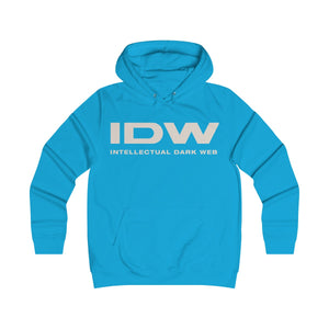Girlie College Hoodie - IDW Spelled Out