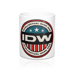 Mug 11oz - IDW Badge - Color - Red Border