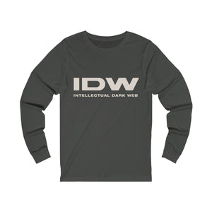 Unisex Jersey Long Sleeve Tee - IDW Spelled Out
