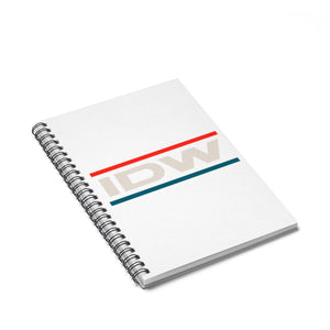Spiral Notebook - Ruled Line - IDW Murica