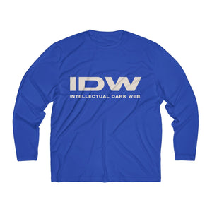 Men's Long Sleeve Moisture Absorbing Tee - IDW Spelled Out