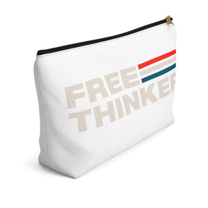 Accessory Pouch w T-bottom - Free Thinker