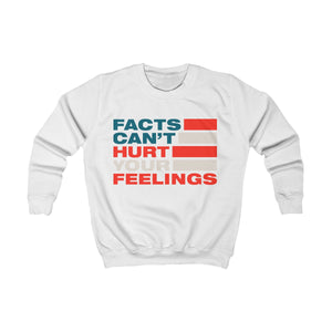 Kids Sweatshirt - Facts Cant Hurt Your Feelings