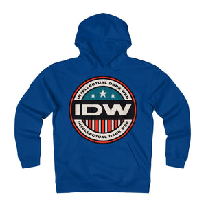 Unisex Heavyweight Fleece Hoodie - IDW Badge - Color - Red Border