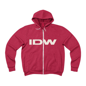 Unisex Sponge Fleece Full-Zip Hoodie - IDW Abbreviated
