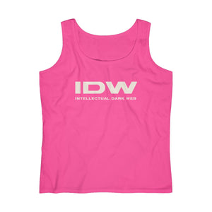 Women's Lightweight Tank Top - IDW Spelled Out