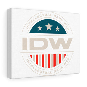 Canvas Gallery Wraps - IDW Badge - Color - White Border