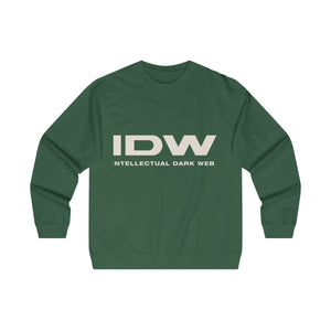 Men's Midweight Crewneck Sweatshirt - IDW Spelled Out