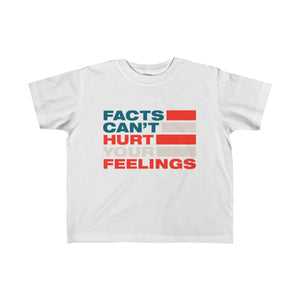 Kid's Fine Jersey Tee - Facts Cant Hurt Your Feelings