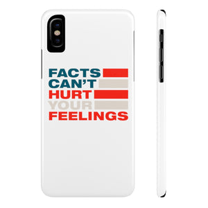 Case Mate Slim Phone Cases - Facts Cant Hurt Your Feelings