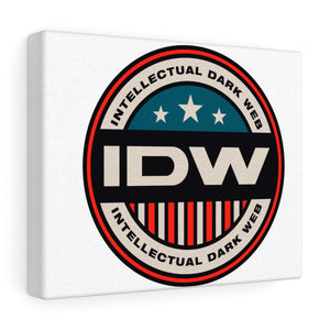 Canvas Gallery Wraps - IDW Badge - Color - Red Border
