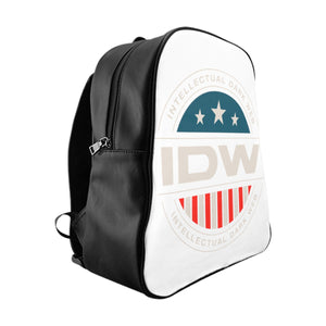 School Backpack - IDW Badge - Color - White Border