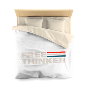 Microfiber Duvet Cover - Free Thinker