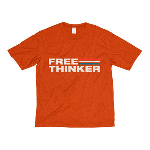 Men's Heather Dri-Fit Tee - Free Thinker